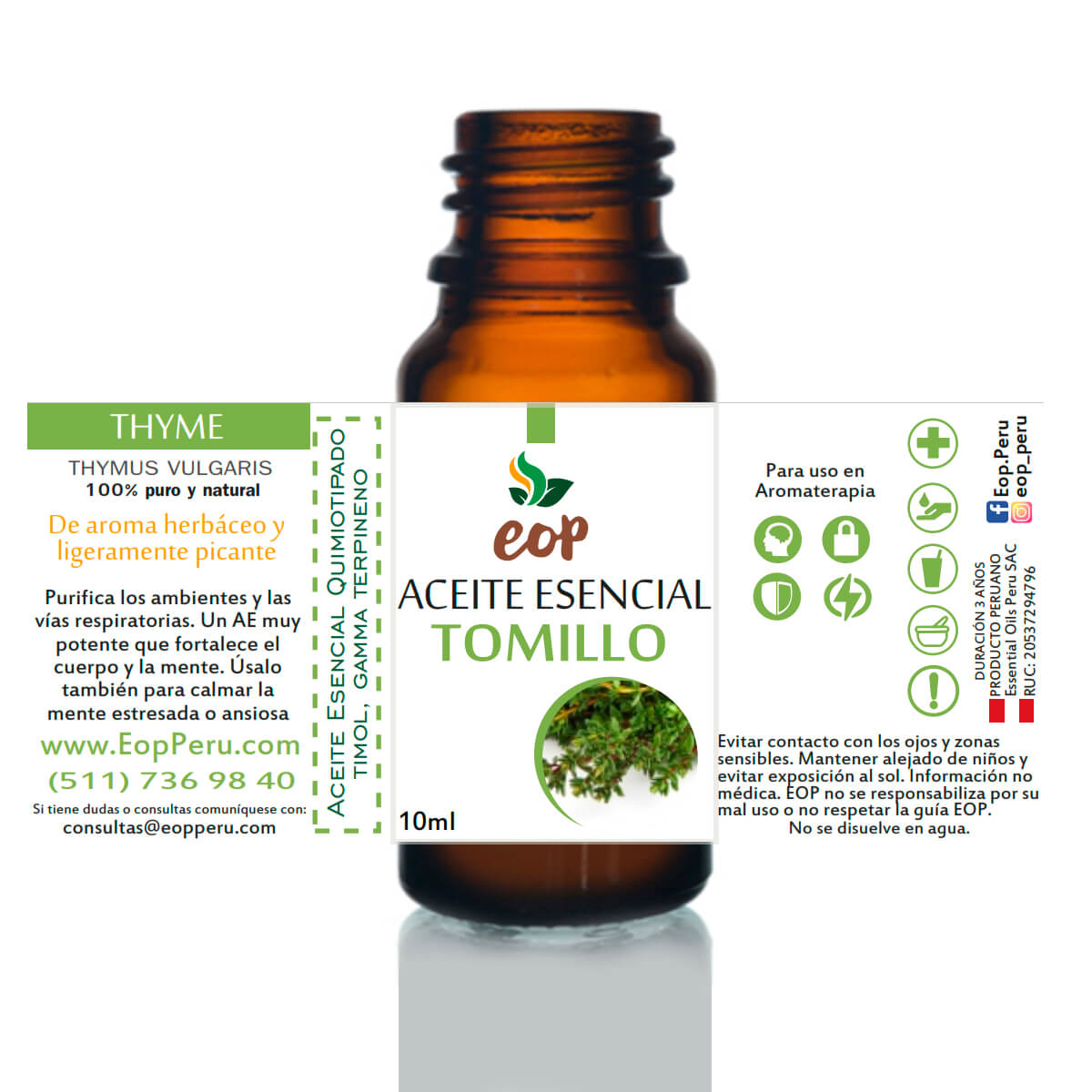 aceite esencial eop lima tomillo