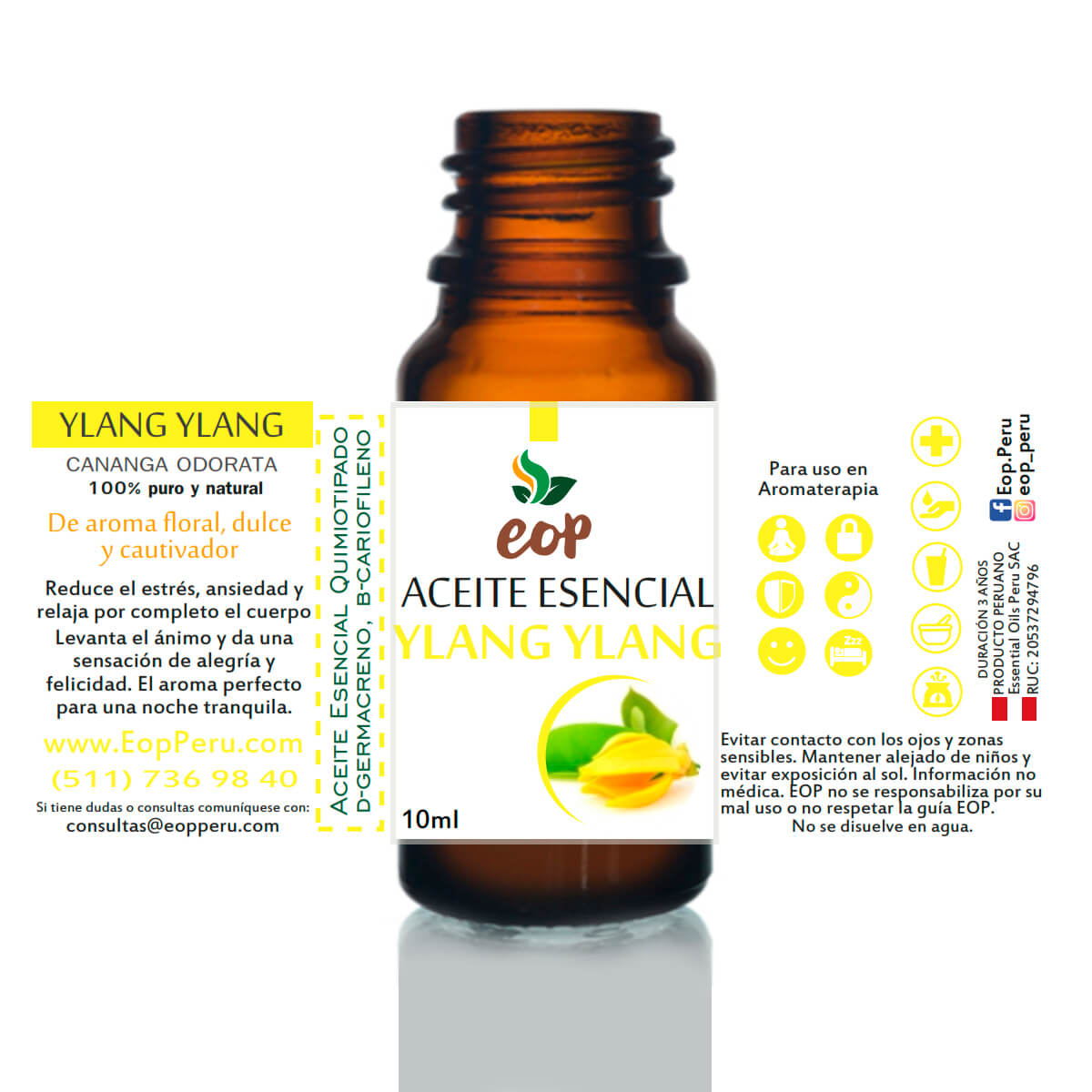 aceite esencial eop lima Ylang